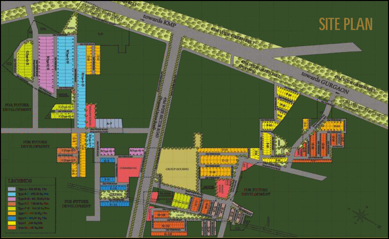 Raheja Aranya City Site Plan